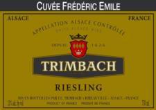 Trimbach Cuvee Frederic Emile 2004