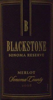 Blackstone 'Monterey' Reserve Merlot 2005 1.5L
