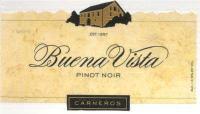 Buena Vista Pinot Noir 2007