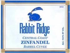 Rabbit Ridge Estate 'Barrel Cuvee' Zinfandel 2010