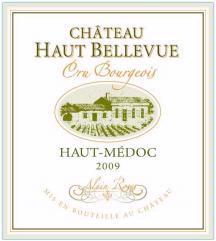 Chateau Haut-Bellevue Medoc 2009