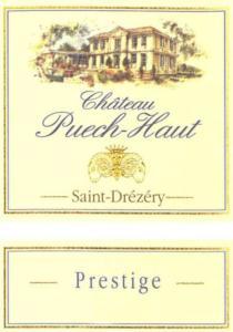 Chateau Puech-Haut 'Prestige' Rose 2011