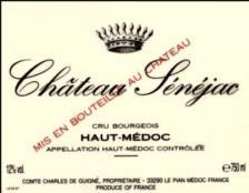 Chateau Senejac Haut Medoc 2009