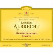 Lucien Albrecht Gewurztraminer Reserve 2010
