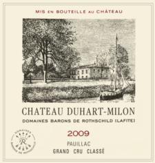 Chateau Duhart Milon Pauillac 2009