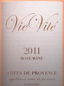 Domaine Ste.-Marie 'VieVite' Rose 2011