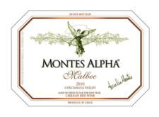 Montes 'Alpha' Malbec 2010