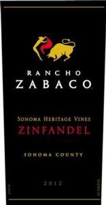 Rancho Zabaco 'Heritage Vines' Zinfandel 2012