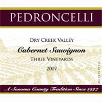 Pedroncelli Estate 'Three Vnd' Cabernet Sauvignon 2009