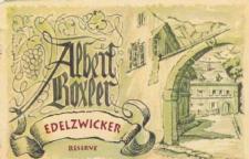 Albert Boxler Edelzwicker Réserve 2013