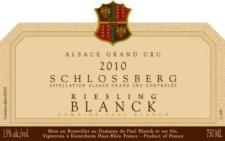 Paul Blanck Riesling Grand Cru 2014