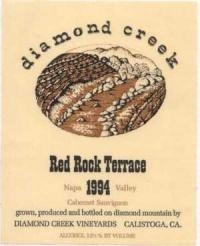 Diamond Creek 'Red Rock Terr' Cabernet Sauvignon 2008