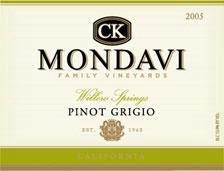 CK Mondavi Pinot Grigio 1.5L
