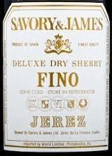 Savory & James 'Fino' Dry Sherry
