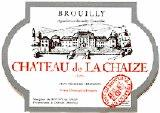 Chateau de la chaize brouilly 2007 burgundy red wine for Brouilly chateau de la chaise