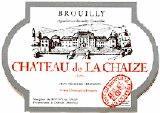 Chateau de la chaize brouilly 2007 burgundy red wine for Brouilly chateau de la chaise
