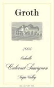 Groth Cabernet Sauvignon 2008