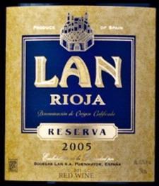 Bodegas Lan Rioja Rioja Reserva 2005