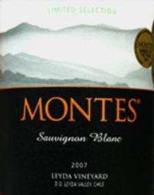 Montes 'Limited Selection' Sauvignon Blanc 2010