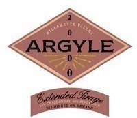 Argyle Extended Tirage 2000