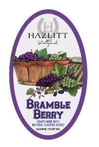 Hazlitt Vineyards Bramble Berry
