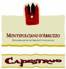 Capestrano Montepulciano d'Abruzzo 2011