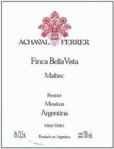 Achaval Ferrer Finca Bella Vista Malbec 2008