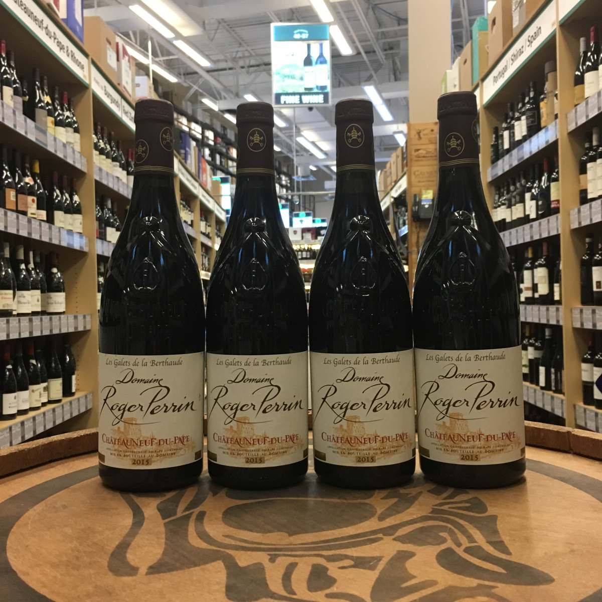Domaine Roger Perrin Chateauneuf Du Pape 2015