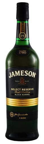 jameson black barrel rsv 1 0l irish whiskey liquor. Black Bedroom Furniture Sets. Home Design Ideas