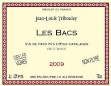 Domaine Jean-Louis Tribouley VDP Catalanes 'Les Bacs' 2009