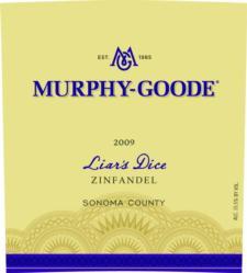 Murphy Goode 'Liar's Dice' Zinfandel 2009