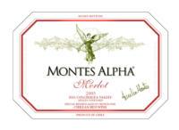 Montes 'Alpha' Merlot 2008