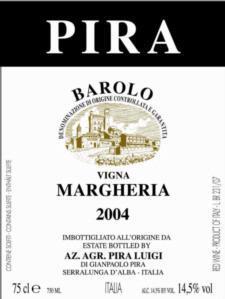 Luigi Pira 'Margheria' Barolo 2011
