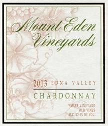 Mount Eden 'Old Vines' Chardonnay 2014