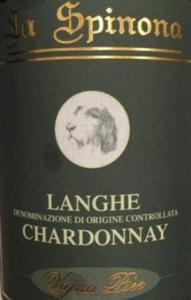La Spinona Chardonnay 2014