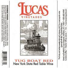 Lucas Tug Boat Red
