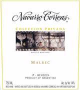 Navarro Correas Privada Malbec 2010